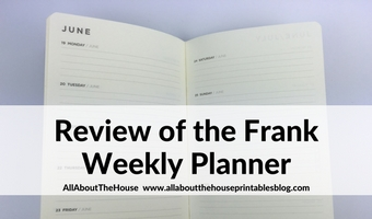 frank weekly planner review 2017 horizontal lined simple minimalist gold foil classy career business pros cons cheap new zealand