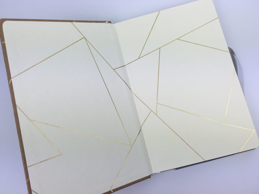 gold foil planner simple frank stationery review horizontal weekly planner kraft