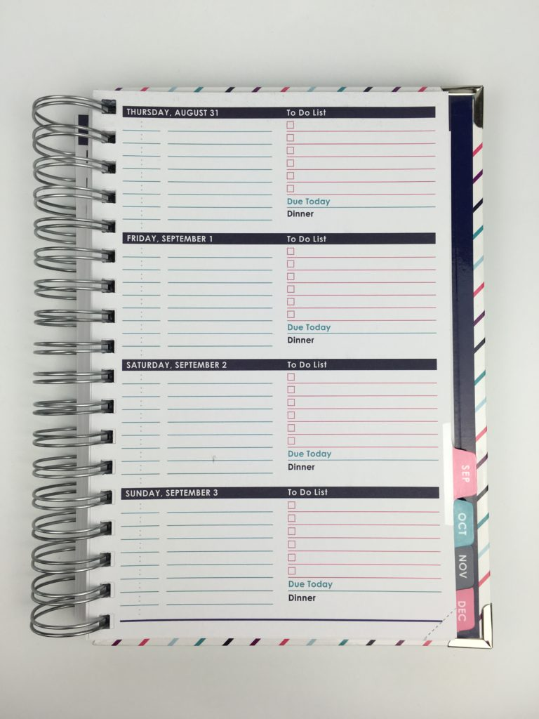 horizontal planner review roundup ashley shelly colorful cheaper alternative to erin condren weekly planner 2 page spread hourly ideas