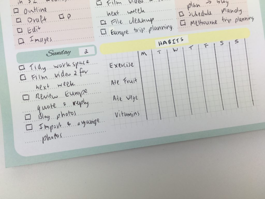 how to use a habit tracker to plan your week ideas weekly spread plan me with inspiration daily planner alternative to traditional planner