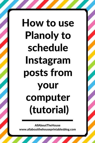 how to use planoly to schedule instagram posts from your computer without iphone or app tutorial free quick easy