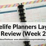 Using Limelife Planners Weekly Layout C Review (Week 23 – 52 Planners in 52 Weeks)