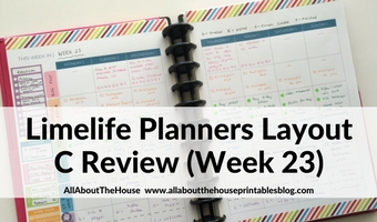 limelife planner layout c review weekly spread diy free planner printable categorised color coding planning tips ideas inspo