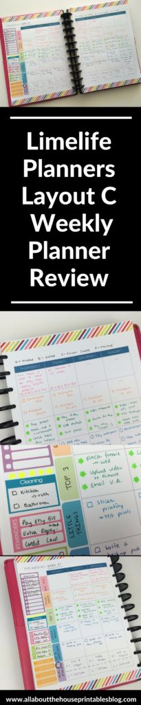 limelife planner review haul weekly spread layout c free printable inspiration tips cheaper alternative to erin condren school