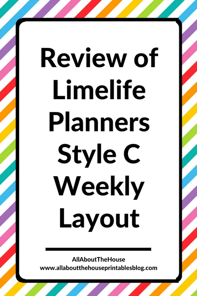 limelife planner review layout c weekly spread categories color coding student planner free printable diy inspiration ideas a4