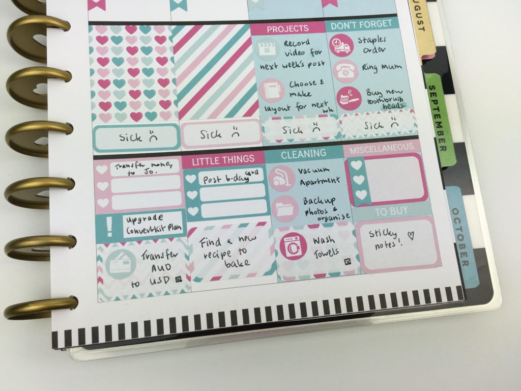 mambi happy planner classic size vertical better than erin condren plan with me weekly spread sticker kit no white space ideas inspo-min
