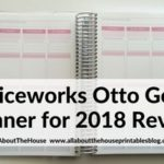 Officeworks Otto Goals Planner for 2018 (Review & Video Walkthrough)