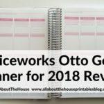 Officeworks Otto Goals Planner for 2018 (Review & Video Walkthrough)