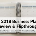 Otto 2018 Business Planner Review (from Officeworks)