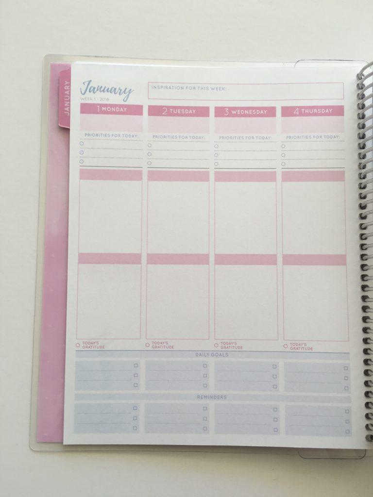 otto 2018 goals planner peek inside officeworks australian planner company colorful alternative to erin condren cheap similar pros cons week starts monday todo
