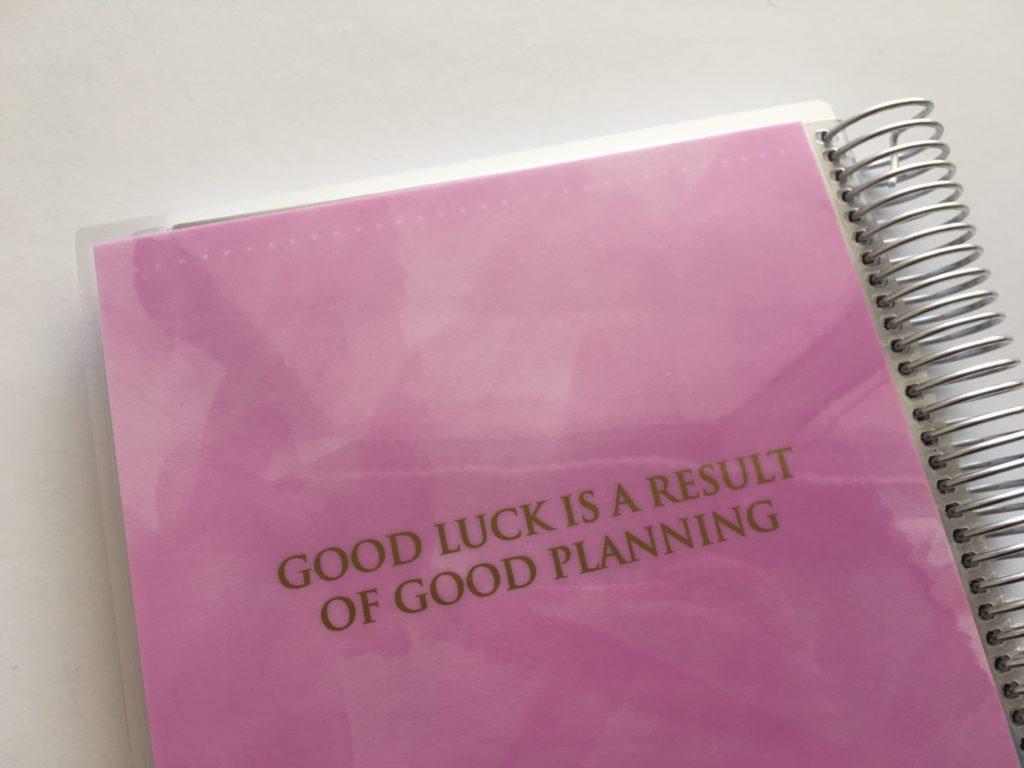 otto 2018 planner review pros cons walkthrough cheaper alternative to erin condren vertical life planner monday start checklist to do task goal setting