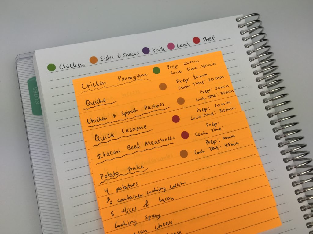 10 Ways to plan using sticky notes - All About Planners