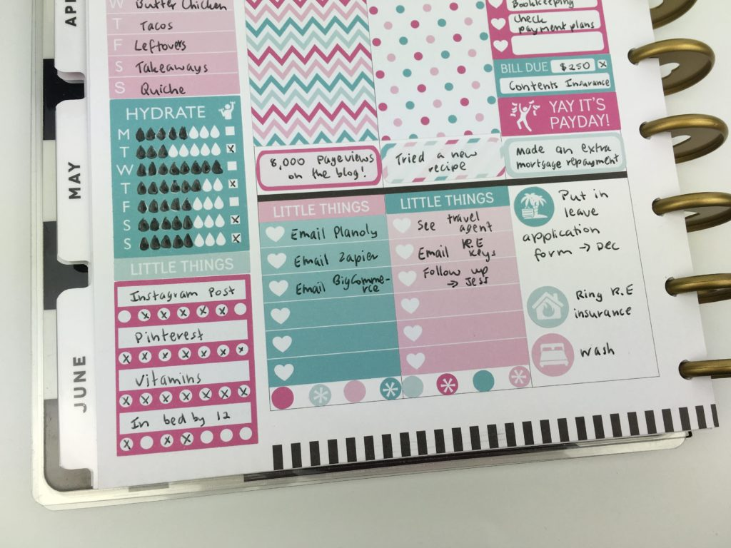 using the mambi classic vertical planner review better than erin condren comparison pros cons using sidebar weekly spread-min