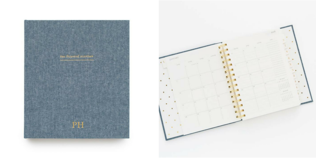 Sugar Paper Planner, Coil Binding, Thank You Section, Note Section, Monthly Layout, best planner under $50