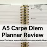 Carpe Diem A5 Planner (by Simple Stories) Review & Flipthrough