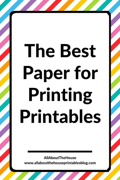 best paper for printing printables tips how to resize printables borderless no bleed best printer for planner stickers duplex a5