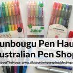 Bunbougu Pen Haul & Review (online Australian planner pen shop)