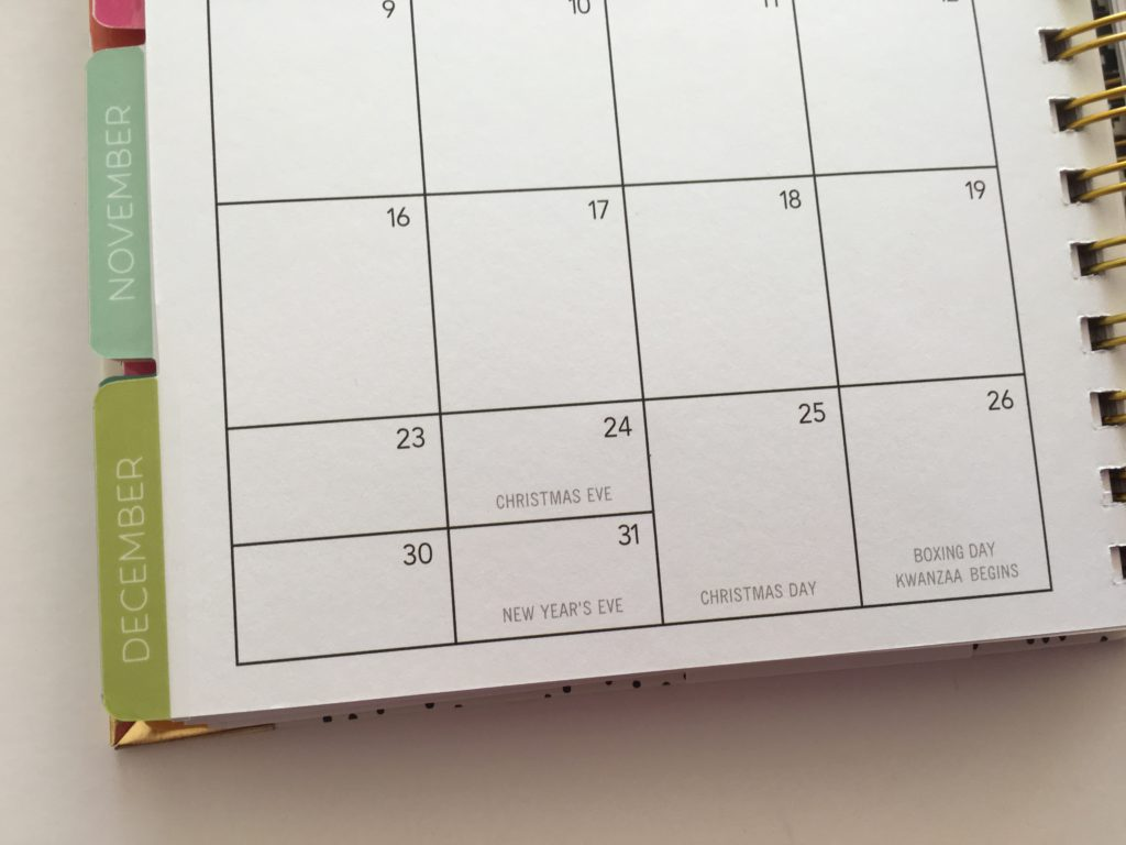 carpe diem monthly calendar 2 page spread combined boxes don't like cons planner review a5 spiral binding planners i don't recommend
