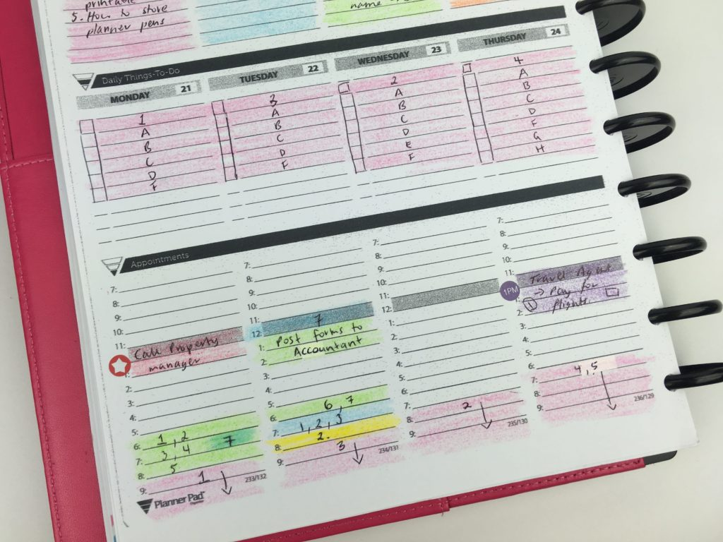 effective time management techniques weekly planner setup bullet journal bujo ideas planner pad review comparison to erin condren