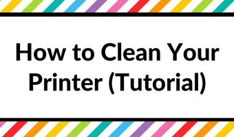 how to clean your printer tutorial prevent ink smudge smearing streaking menu options canon printer troubleshooting printables