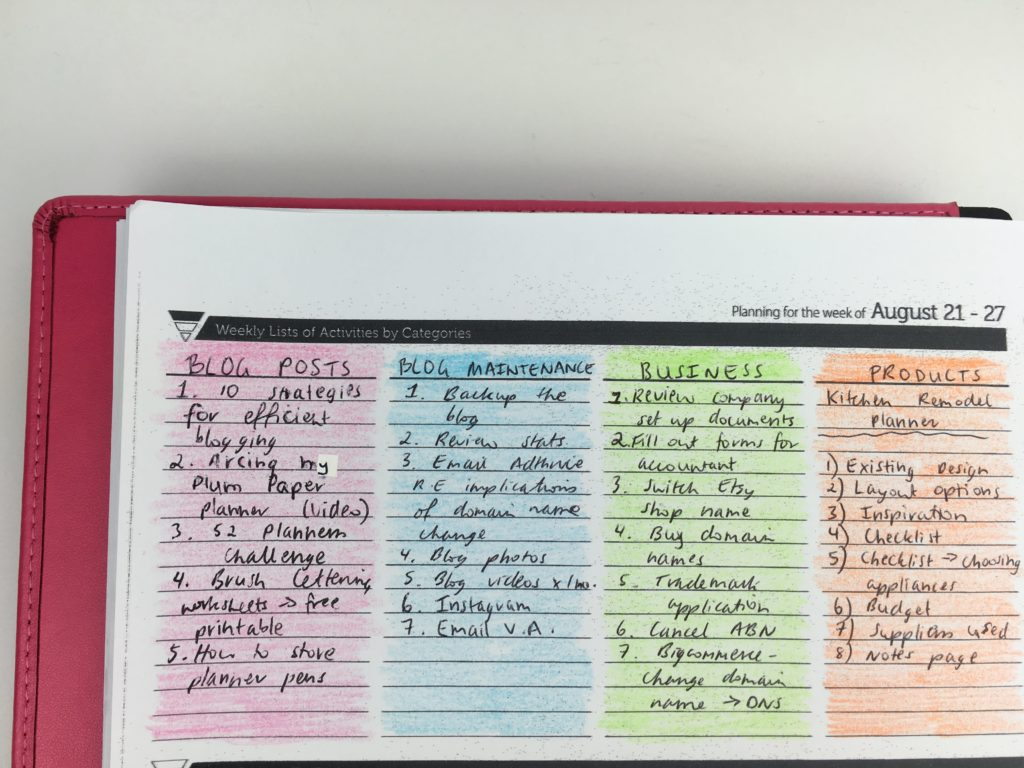 how to color code your planner cheaper alternative to highlighters set up weekly spread bujo bullet journal planner pad arc