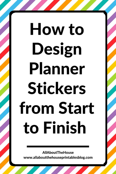 how to design planner stickers silhouette studio tutorial quick easy icon checklist diy free printable custom erin condren