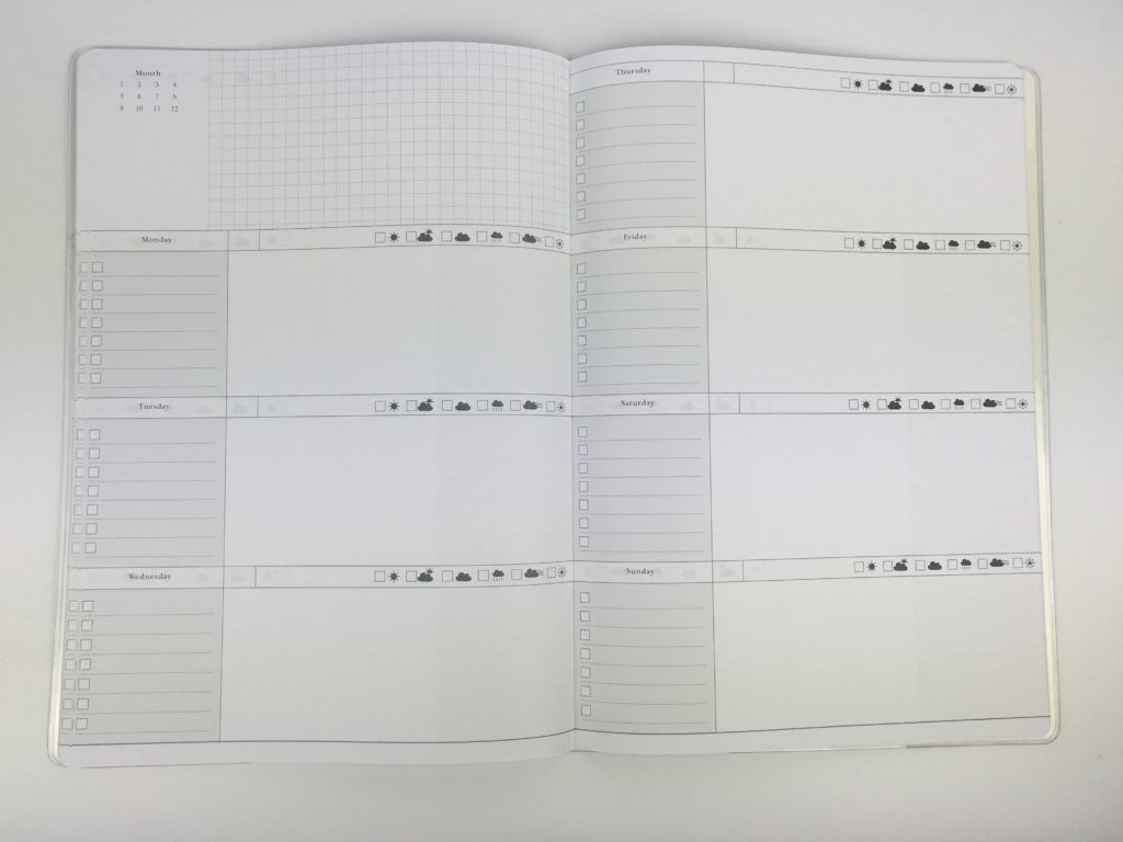 how to plan your week set up a new planner weekly planning process undated horizontal a4 officeworks checklist habit tracker diy