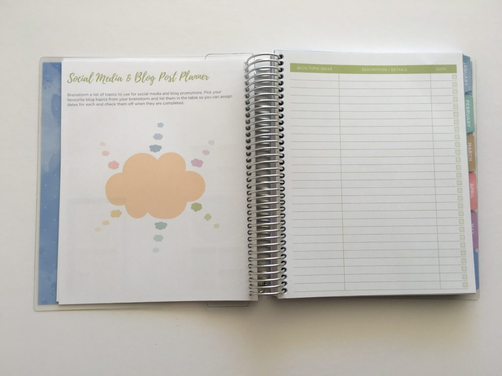 otto business planner blog post ideas social media content planner cheaper alternative to erin condren vertical weekly spread 2 page layout australia