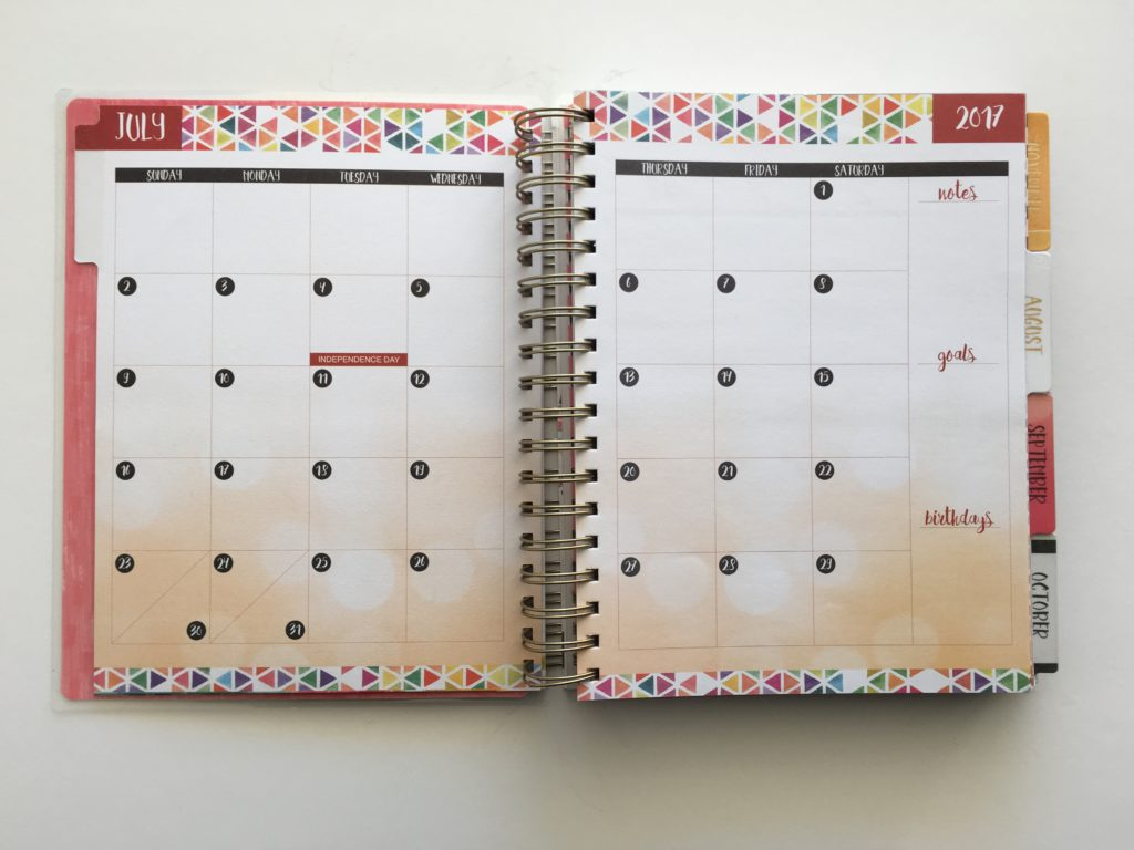 Organized Calendar Planner : Review of the life organized weekly planner by paper house