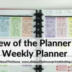 Review of the Planner Pad Weekly Planner (Week 34 of the 52 Planners in 52 Weeks Challenge)