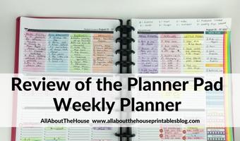 Review of the Planner Pad Weekly Planner (Week 34 of the 52 Planners in 52 Weeks Challenge)