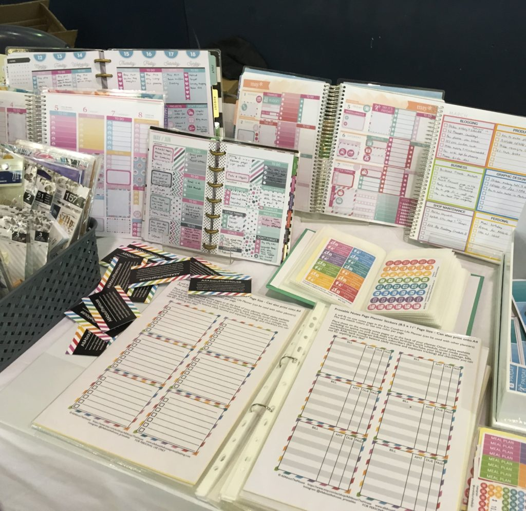 brisbane planner markets 2017 september all about the house planners carefully crafted sticker shops list-min
