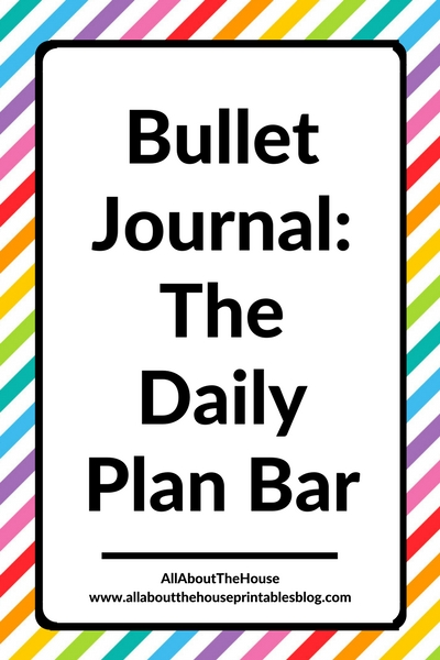 bullet journal daily plan bar color coding schedule hourly bujo ideas inspiration spread setup layout productivity