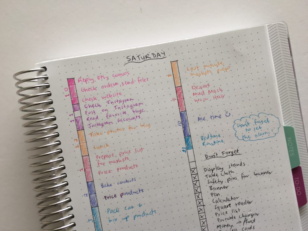 bullet journal daily plan bar setup color coding tips ideas spread layout planner alternatives diy staedtler pen review