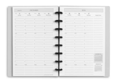 circa levenger planner 2018 weekly sunday start vertical small medium hourly planner roundup review under 50 dollars