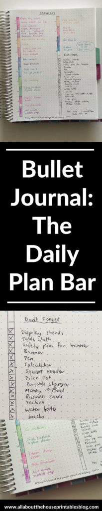 daily plan bar bullet journal setup ryder caroll ideas inspiration planning color coding plum paper diy hourly spread create