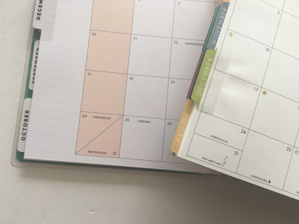 happy planner monthly calendar erin condren review pros cons alternatives cheaper mambi affordable best favorite layout spread