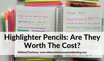 Highlighters vs. Highlighter Pencils: Are they worth the cost?