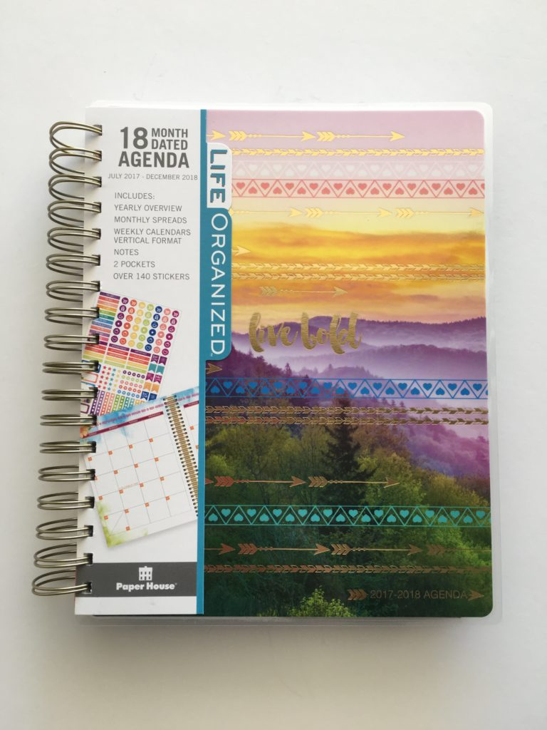 life organized weekly planner similar to erin condren cheaper alternative colorful vertical large agenda school blog mom