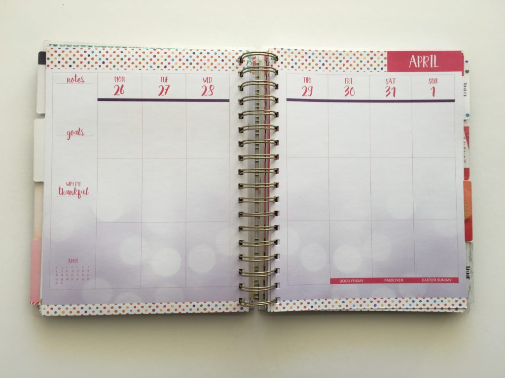 paper house vertical weekly planner review similar to erin condren life planner cheaper alternative colourful
