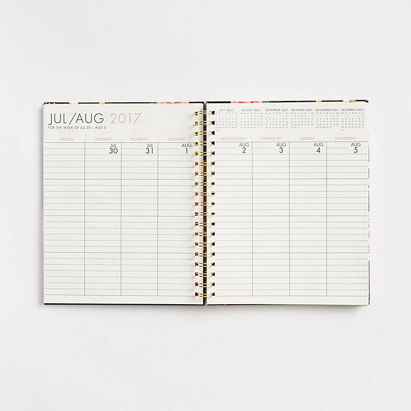 thesis weekly planner
