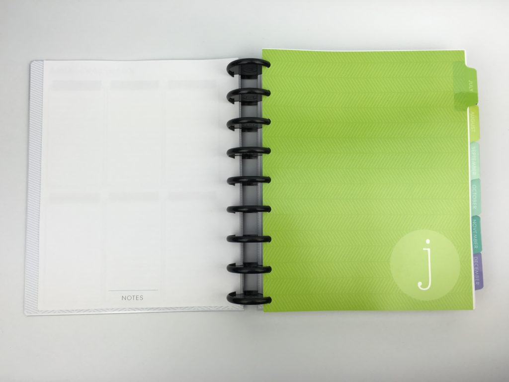 plum paper me planner arcing notebook versus spiral binding cheaper alternative to erin condren school blogging hack tips ideas