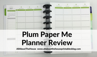 Plum Paper Me Planner Review