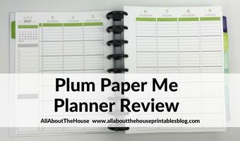 Plum Paper Me Planner Review
