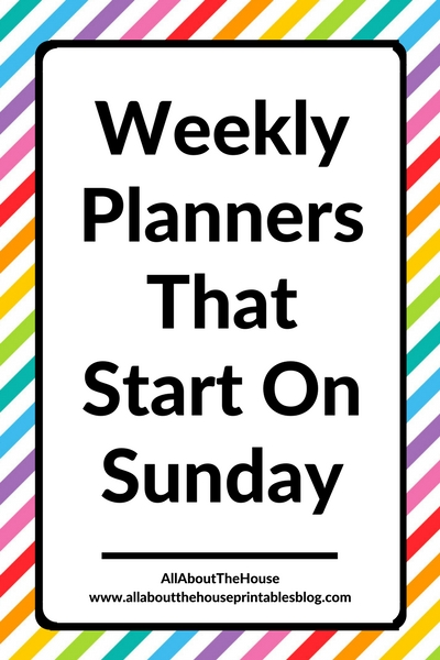 weekly planners that start on a sunday vertical hourly roundup review pros cons cheaper alternative to erin condren europe cheap
