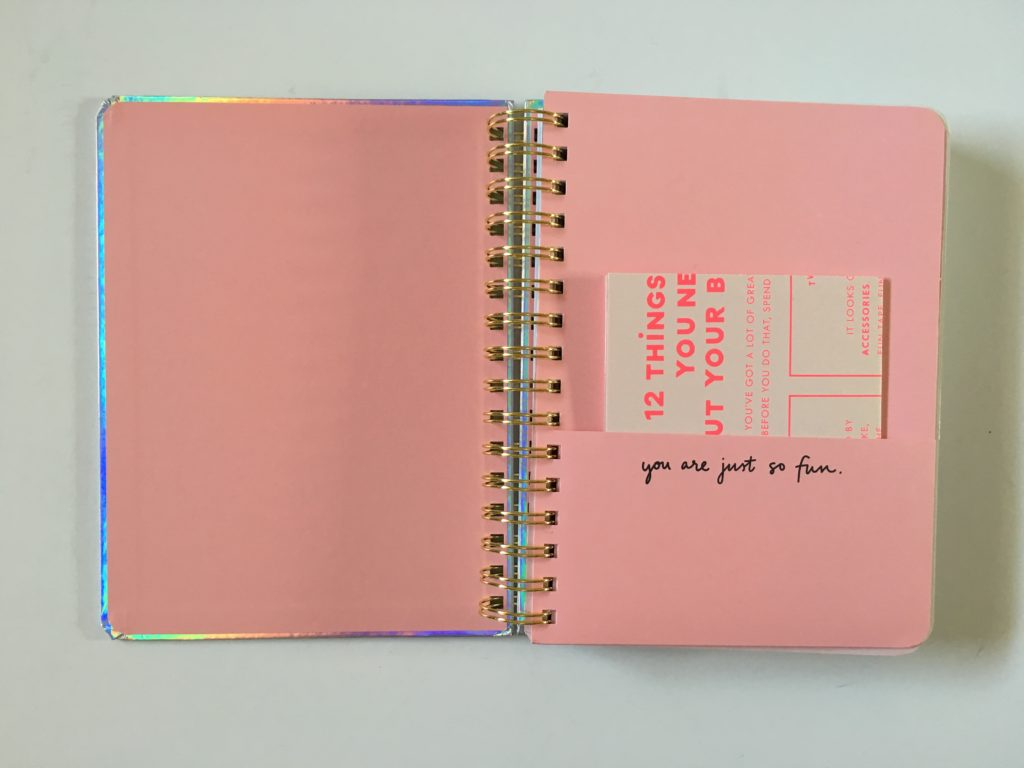 ban do weekly planner notebook review pros and cons student college a5 colorful horizontal unlined 2 page weekly spread