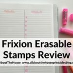 Frixon erasable stamps review