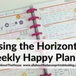 Using the MAMBI Happy Planner Horizontal (Week 40 of the 52 Planners in 52 Weeks Challenge)