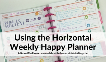 horizontal weekly planner mambi lined planner decorating stickers spread ideas inspiration diy me and my big ideas