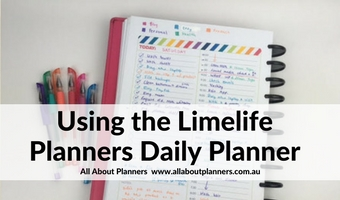 Using the Limelife Daily Planner (free printable)